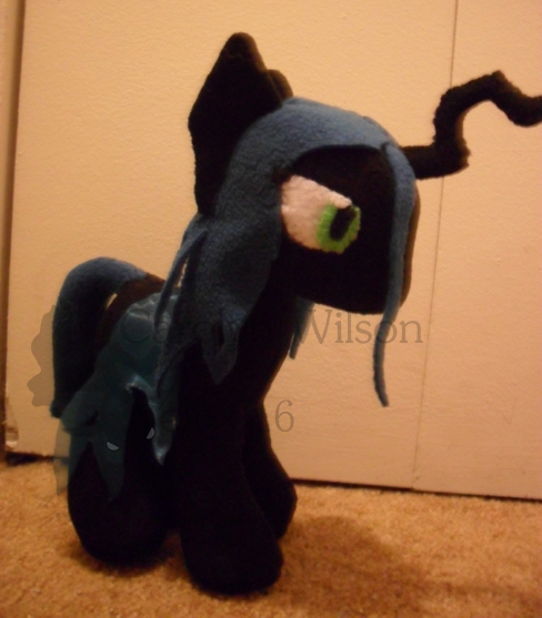 """Pics & Gifs Thread #1: Gasmask should spell my name with an """"o"""" from now on Mlp_plush_queen_chrysalis_wip_by_elfy016-d4x982c"""