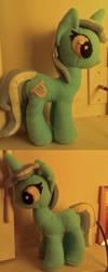 Lyra MLP:FIM Plush by elfy016
