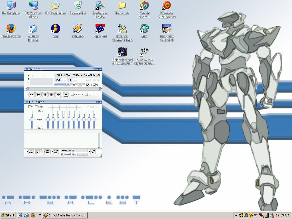 Arbalest - Desktop by doodler