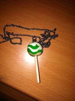 Clay Lollipop Necklace