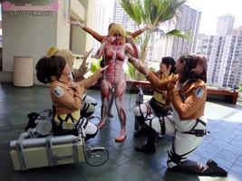 ~Kawaii-Kon 14~ Shingeki no Kyojin Photoshoot 2