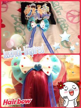 ~Crafts~ Free! Iwatobi-inspired Hairbow