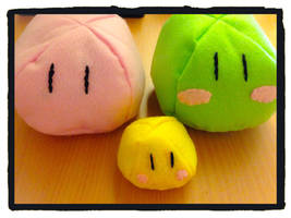 ~Craft Projects~ Mini Dango Family