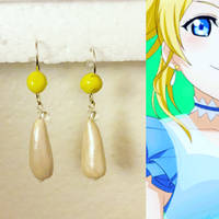 ~Clay Projects~ Love Live - Eli Ayase Earrings
