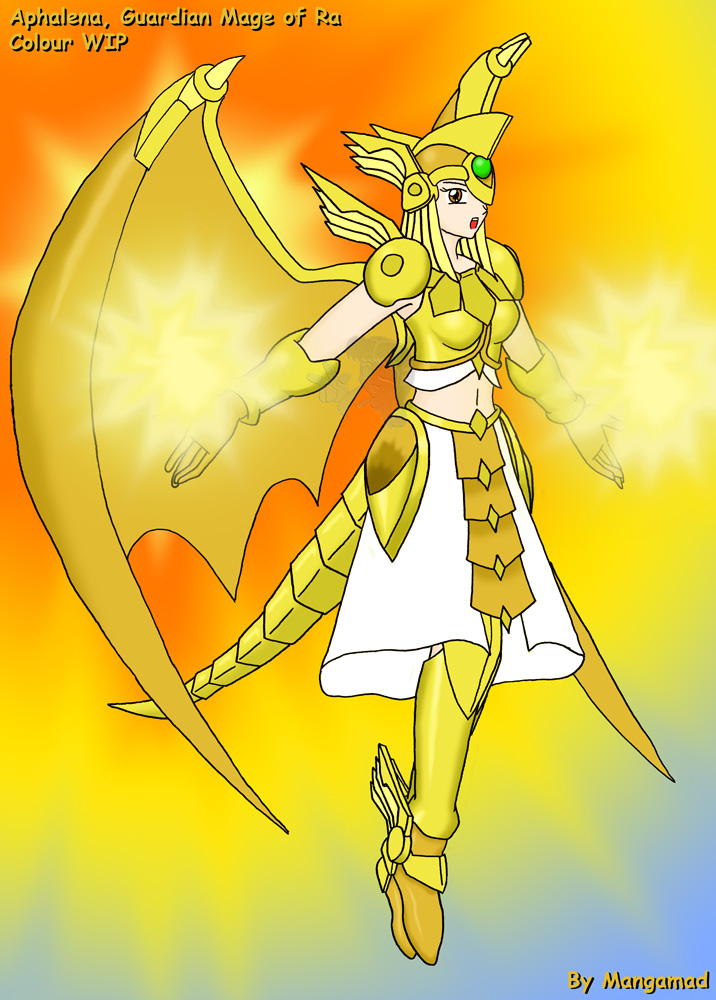 Guardian Mage Aphalena Done by Mangamad