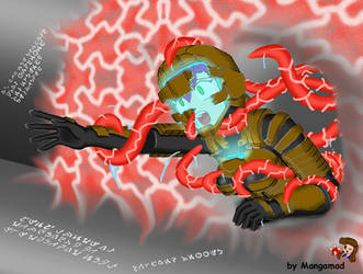 Dead Space Tentacle Death by Mangamad