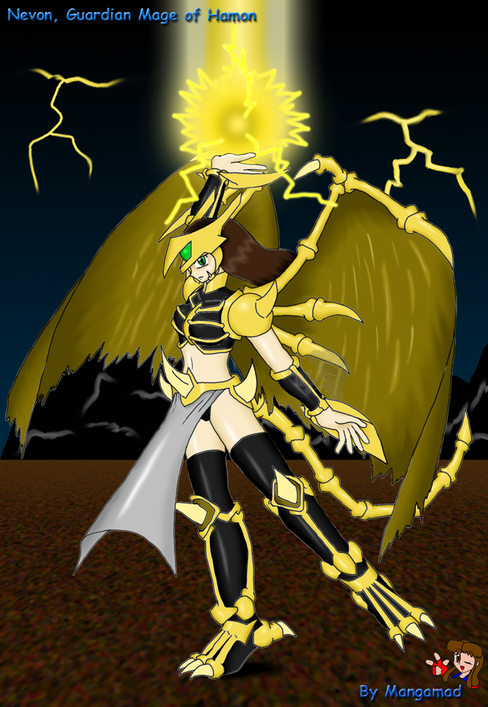 Guardian Mage Nevon Completed by Mangamad