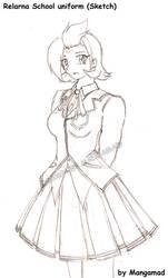 Guardian Mage Relana School Uniform