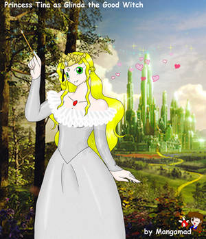 Tina as the good witch complete
