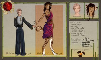 Academie Yokai / Mark et Leo by CyciTheConqueror