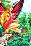 Spring fairy, again by CyciTheConqueror