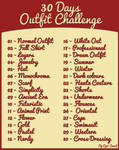 [30 days Outfit Challenge ]