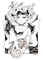 [ inktober ] Day 9 by CyciTheConqueror