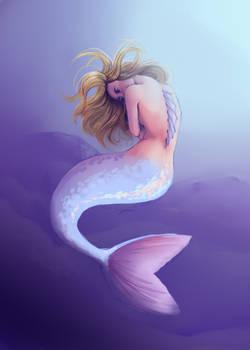 [ collab ] Spiky mermaid