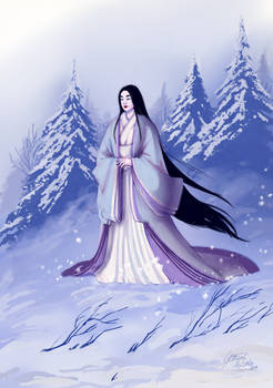 [ collab ] Yuki Onna waiting for her Prince