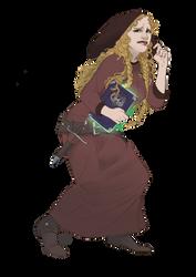[ C ] Vivian sneaking by CyciTheConqueror