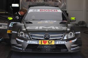 DTM Nurburgring 2012 - Mercedes C-Coupe AMG