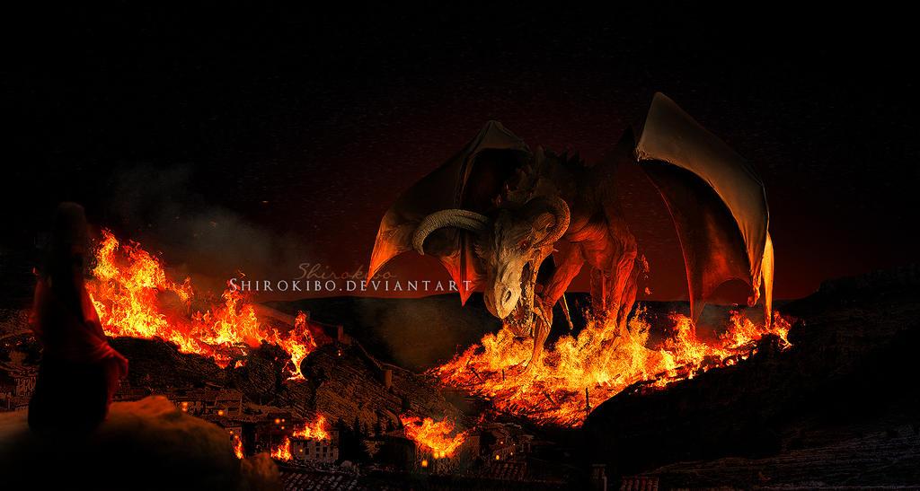 The Dragon's Fury by Shirokibo