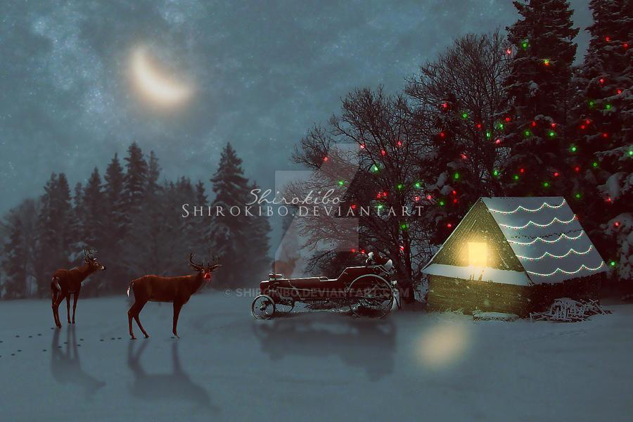 Santa's Place by Shirokibo