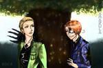 Commission: Something wrong , Captain? by Zamarazula