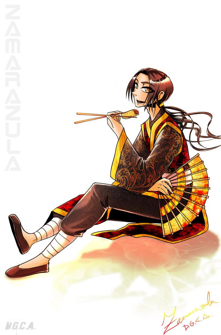 China loves food by Zamarazula