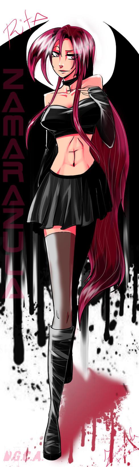 Rita Vampire - Art Trade by Zamarazula