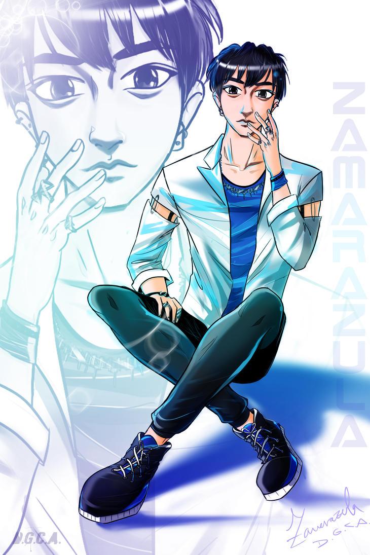Anime Style: Tao - EXO by Zamarazula