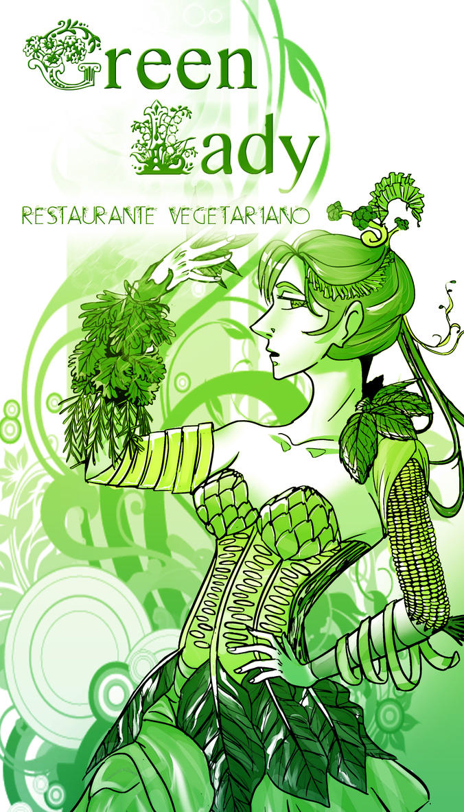 Vegetarian Food Allegory by Zamarazula