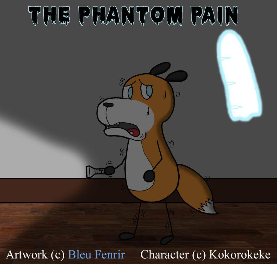 The phatome Pain by Bleu-Fenrir