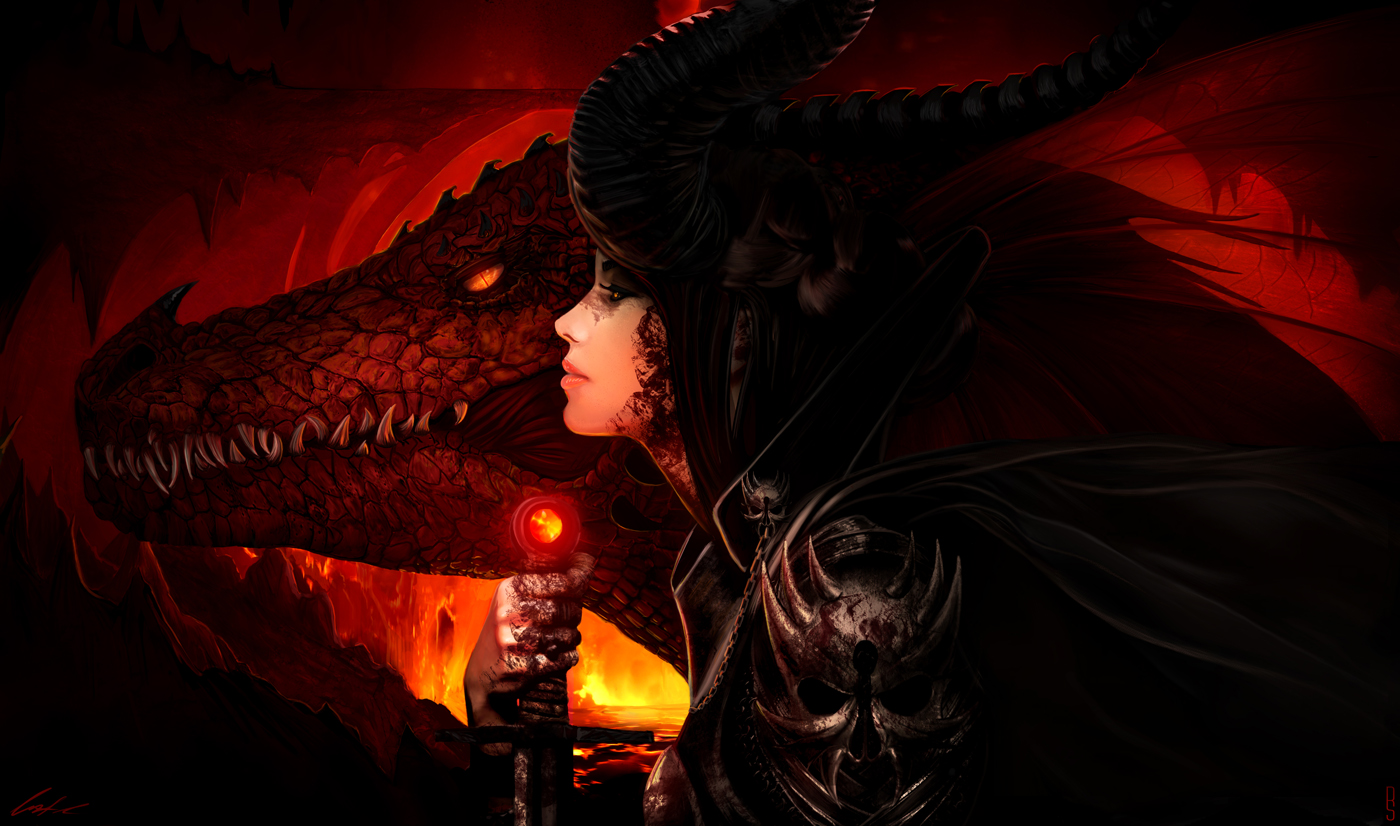 Dragon Warrior by RobShields