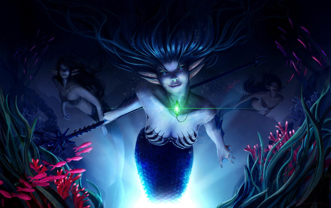 Sirens in the Deep Sea by RobShields