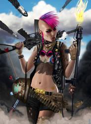 TANK GIRL by RobShields