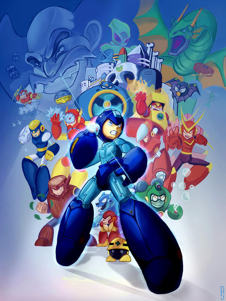 MegaMan 2 Tribute by RobShields