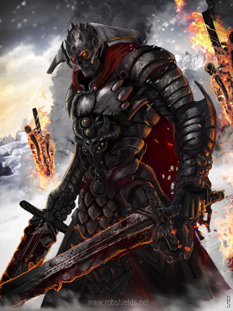 evil knight anime related - photo #22