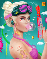 Gamer Girl by RobShields