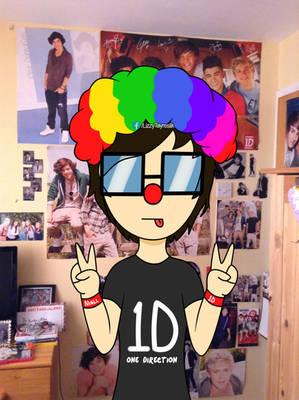 Lizzy clown