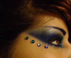 Mermaid Eye Makeup by SYNtheticPoetic