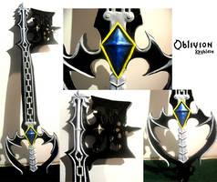 Oblivion Keyblade by Kikiyaa
