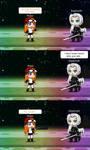 Meggy vs Sephiroth by Yusakupham7