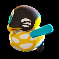 Cube the Penguin render