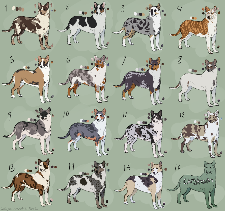 Collie Adoptables (closed) by Pred-Adopts