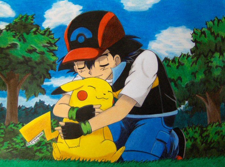 The best Partner ever by Ash-Misty-Pikachu