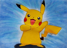 Pika Pikachuu by Ash-Misty-Pikachu