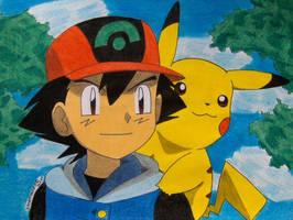 you my best friend by Ash-Misty-Pikachu