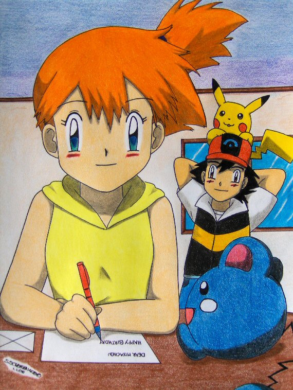 a letter for you :3 by Ash-Misty-Pikachu