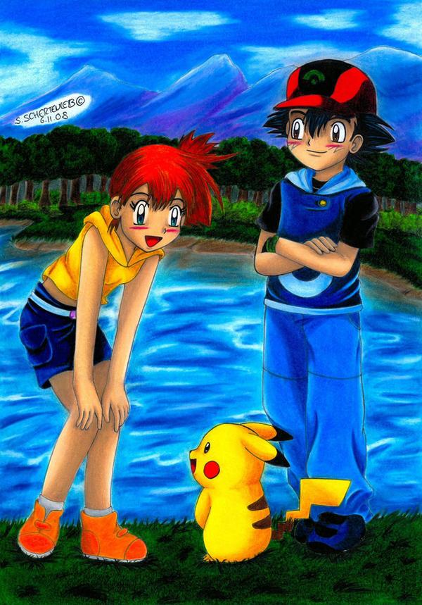 Like The Old Days by Ash-Misty-Pikachu