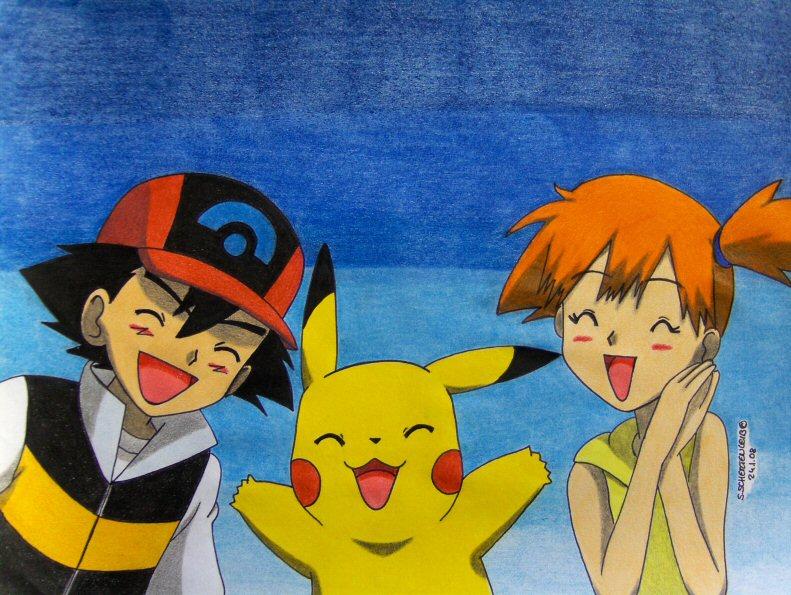 Misty and pikachu take on ash039s pokeballs pokemon parody 5