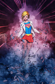 Supergirl attacked