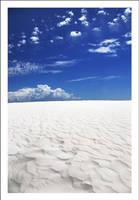 White Sands Blue Sky by Ballisticvole