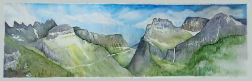 Glacier National Park by GodessFae